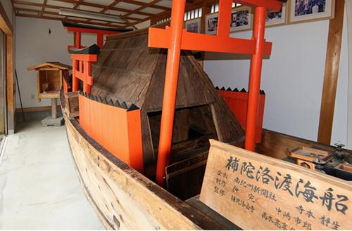 補陀落渡海船の画像