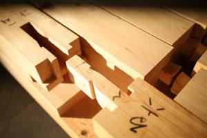 木組みの画像