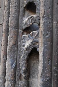 カテドラルの彫刻画像