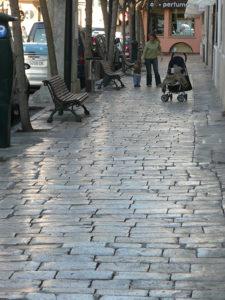 ソイェールの石畳みの画像