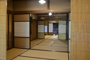 美濃市の日本家屋画像
